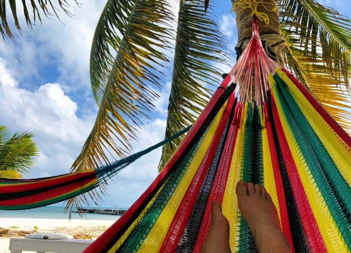 Family Travel Belize Beach