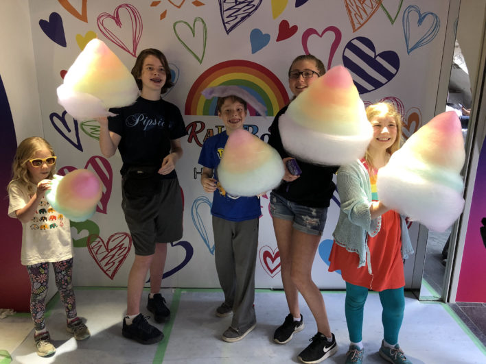 Family Travel Cotton Candy