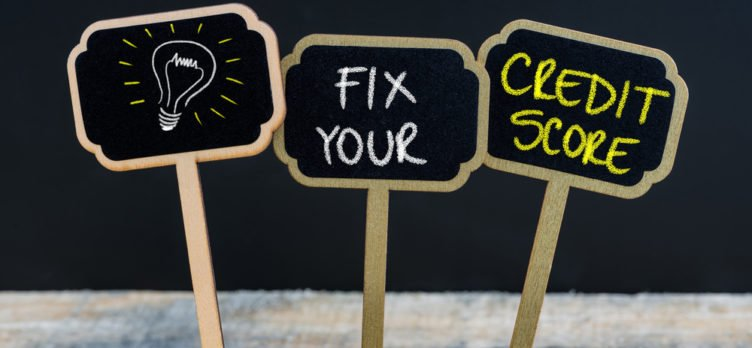 Fix and Repair Your Credit Score