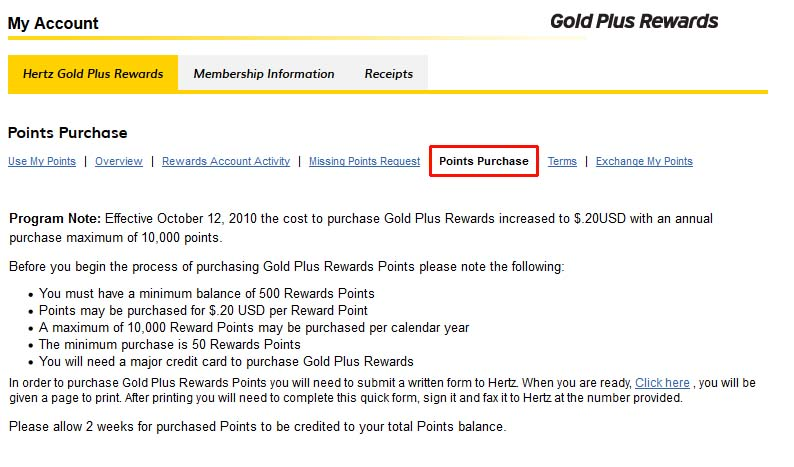 HERTZ GOLD MEMBER ADDITIONAL DRIVER FOR WINDOWS