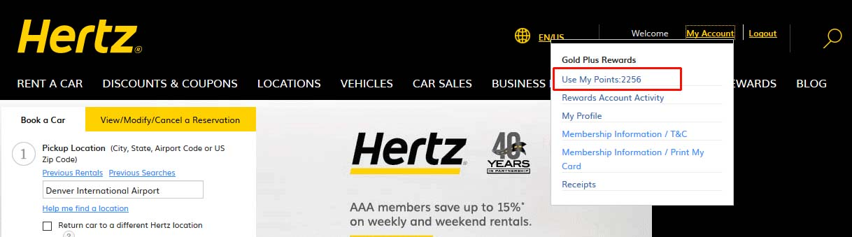 A Complete Guide To The Hertz Gold Plus Rewards Program [2019]