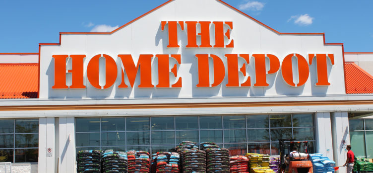 Home Depot Storefront for Home Depot Credit Card Review