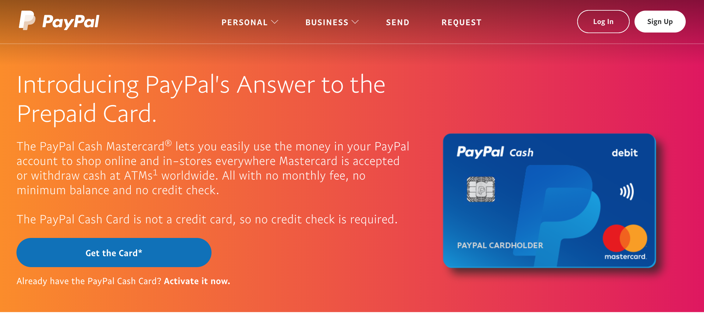 paypal prepaid mastercard cash mastercard debit cards worth it
