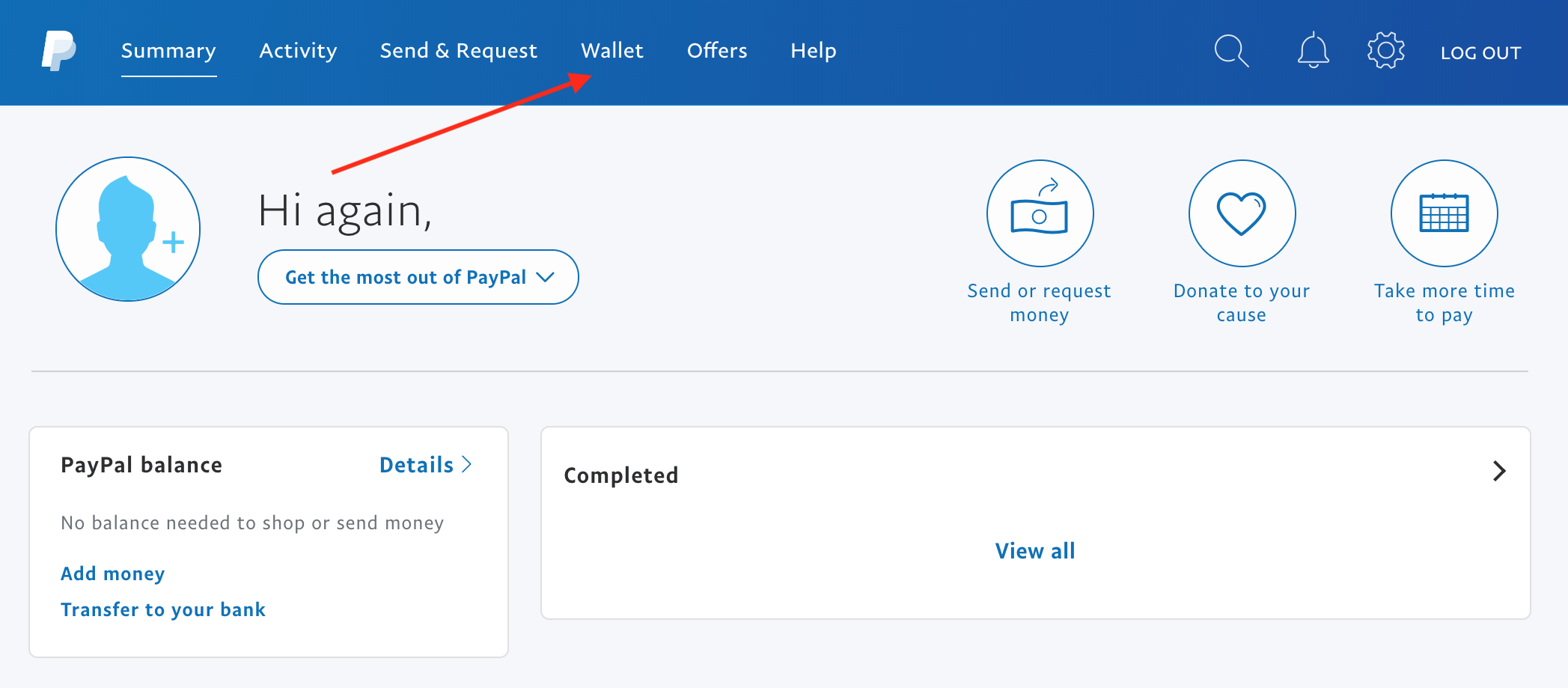 The PayPal Cashback Mastercard & PayPal