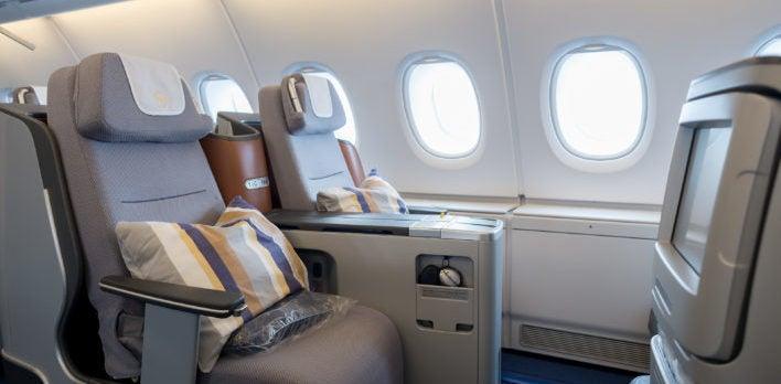 Lufthansa Business Class Seat