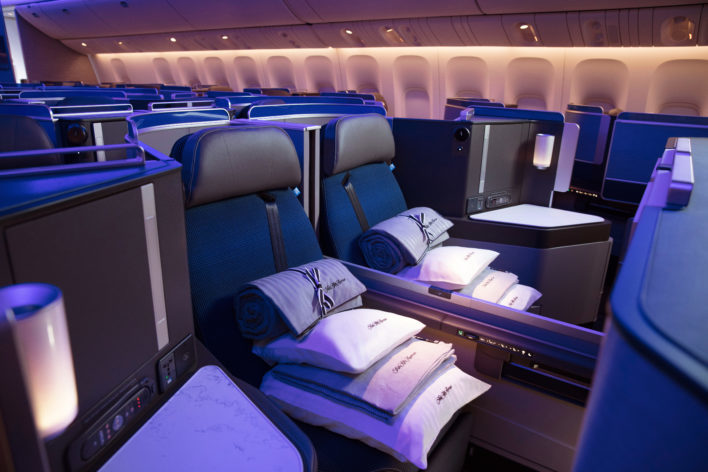 United Polaris Middle Seats