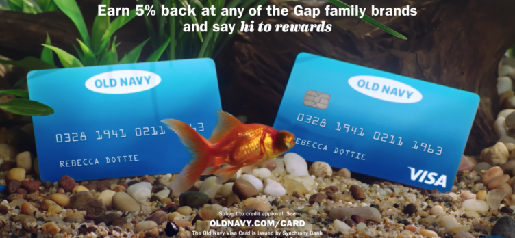 Old Navy Cards - Fish Tank