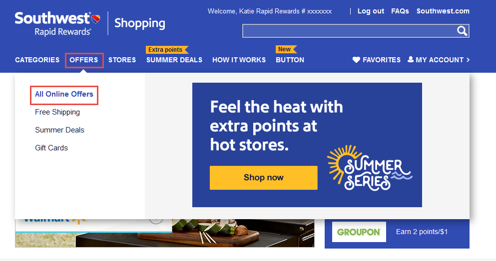 Here's How To Earn A Stack of Southwest Points [Without Even