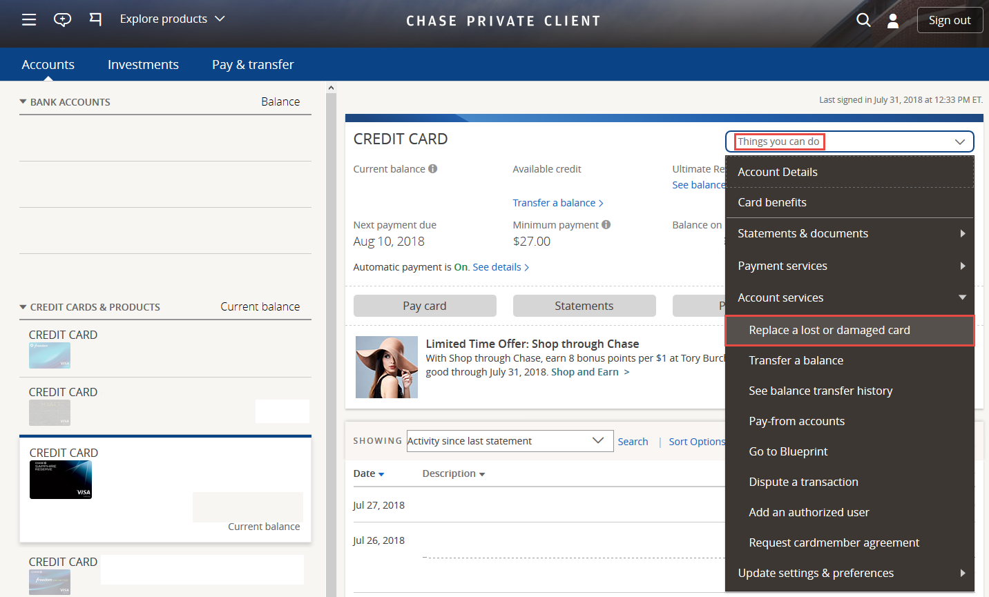 How to Request a Replacement Chase Credit Card [Step-by-Step]