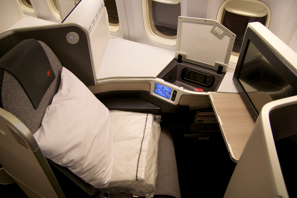 Air Canada 777 Business Class