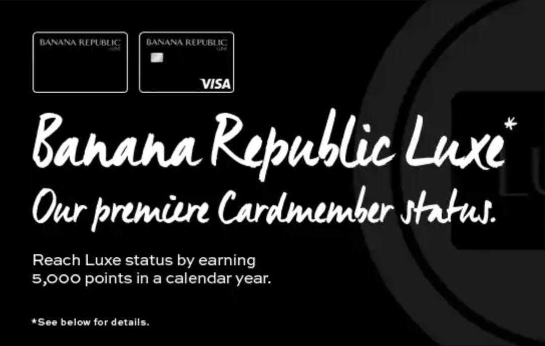 Banana Republic Credit Cards & Rewards Program - Worth It