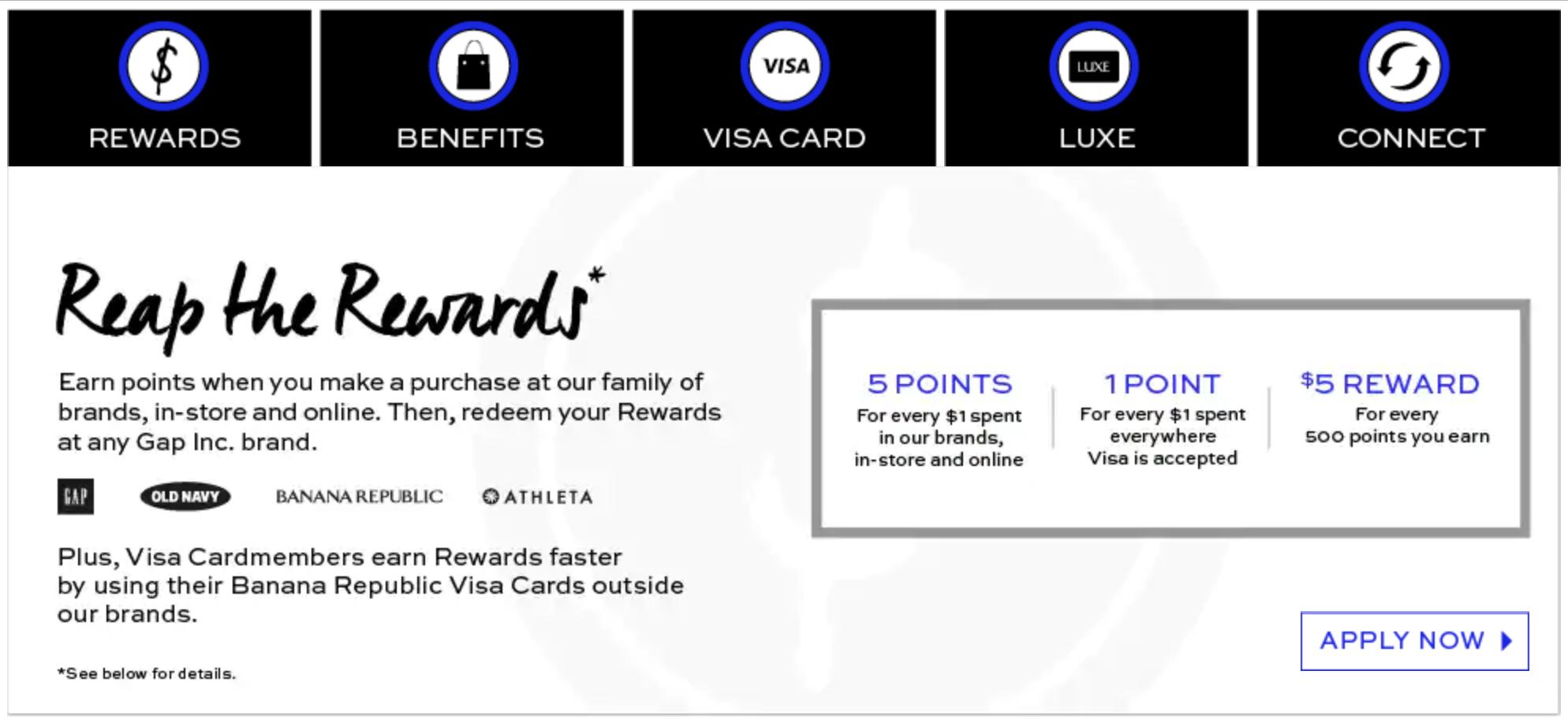Banana Republic Credit Cards & Rewards Program - Worth It? [2018]