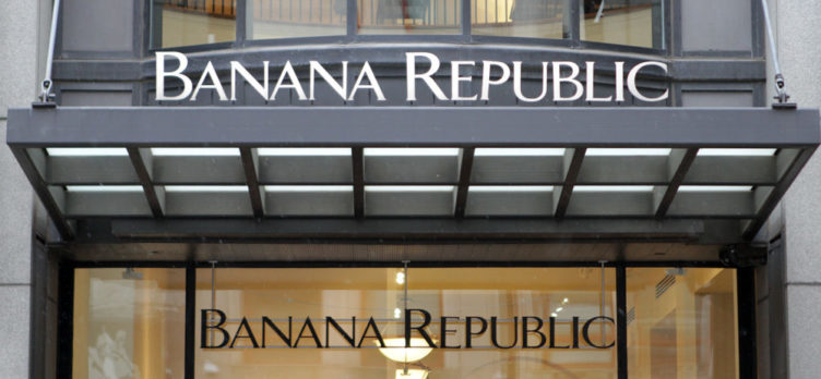 Banana Republic Storefront for Banana Republic Credit Card Review