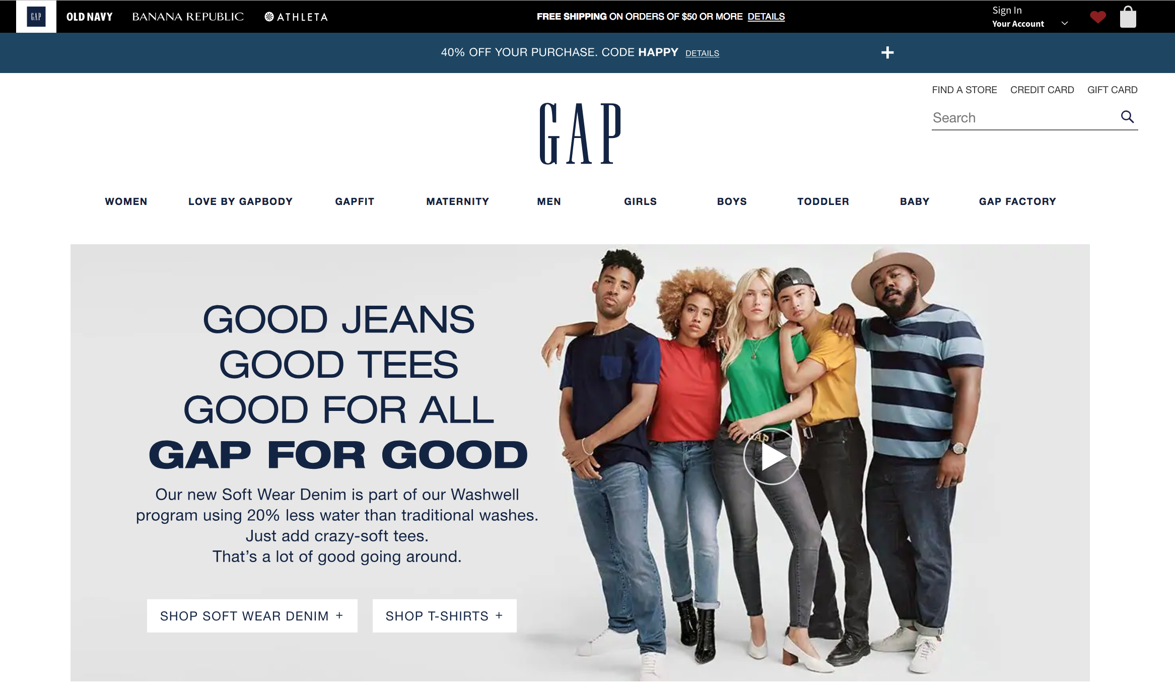 The Gap Credit Cards & Rewards Program - Worth Signing Up