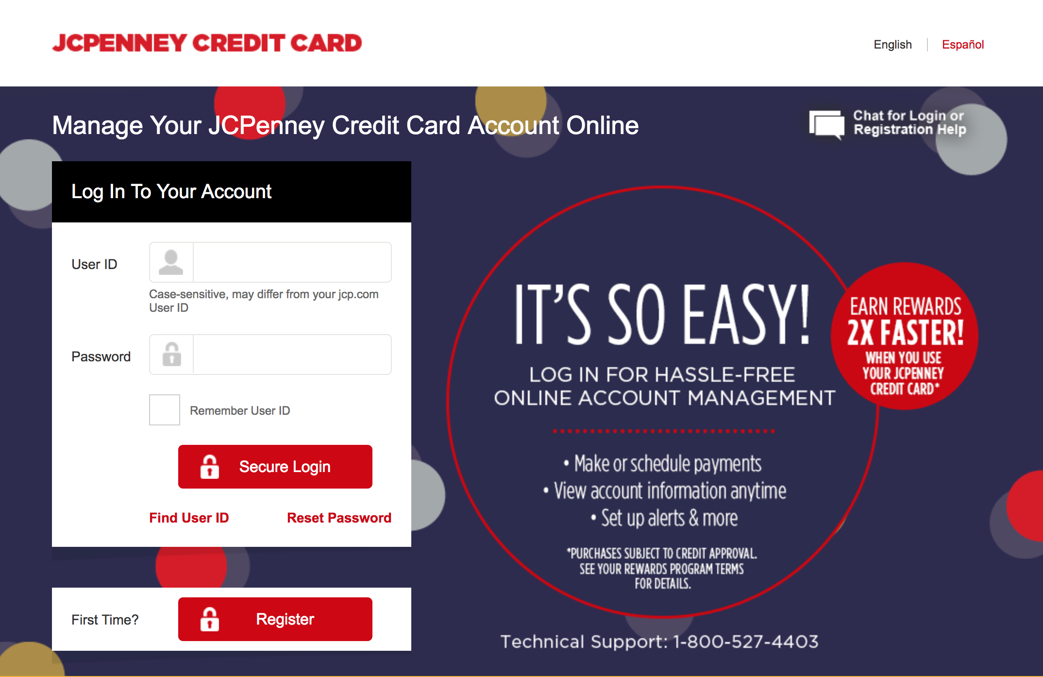 jcpenney credit card online account management - Jcpenney Rewards Credit Card