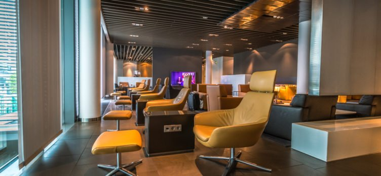 Lufthansa First Class Terminal Lounges