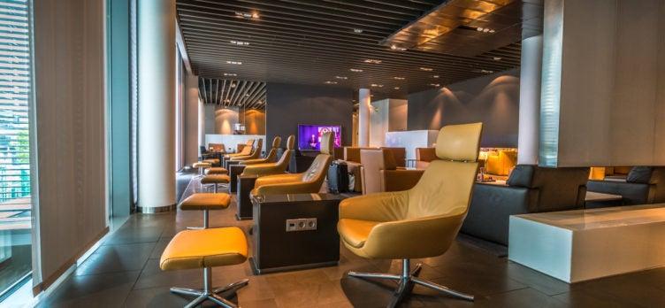 Lufthansa First Class Terminal Lounges