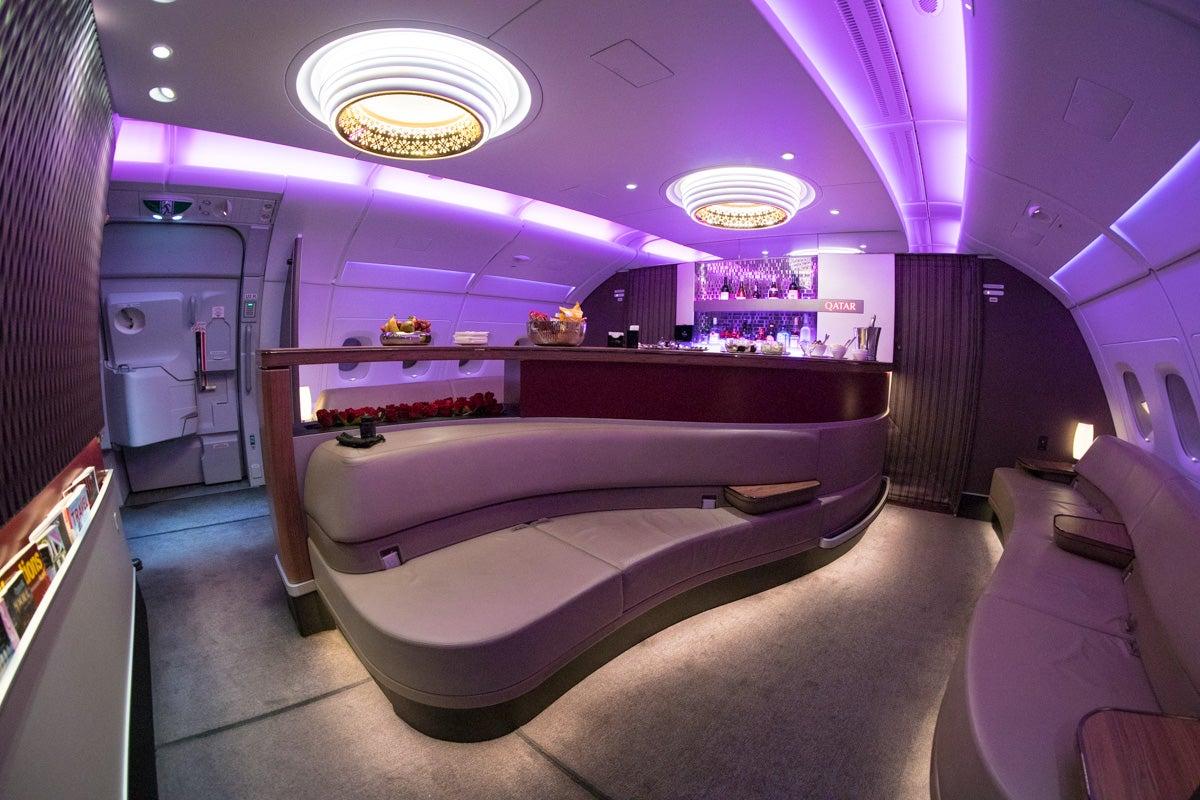 فرست کلاس شرکت هواپیمایی قطر