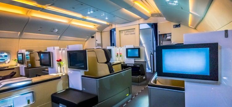 28-Lufthansa Airbus A380 First Class