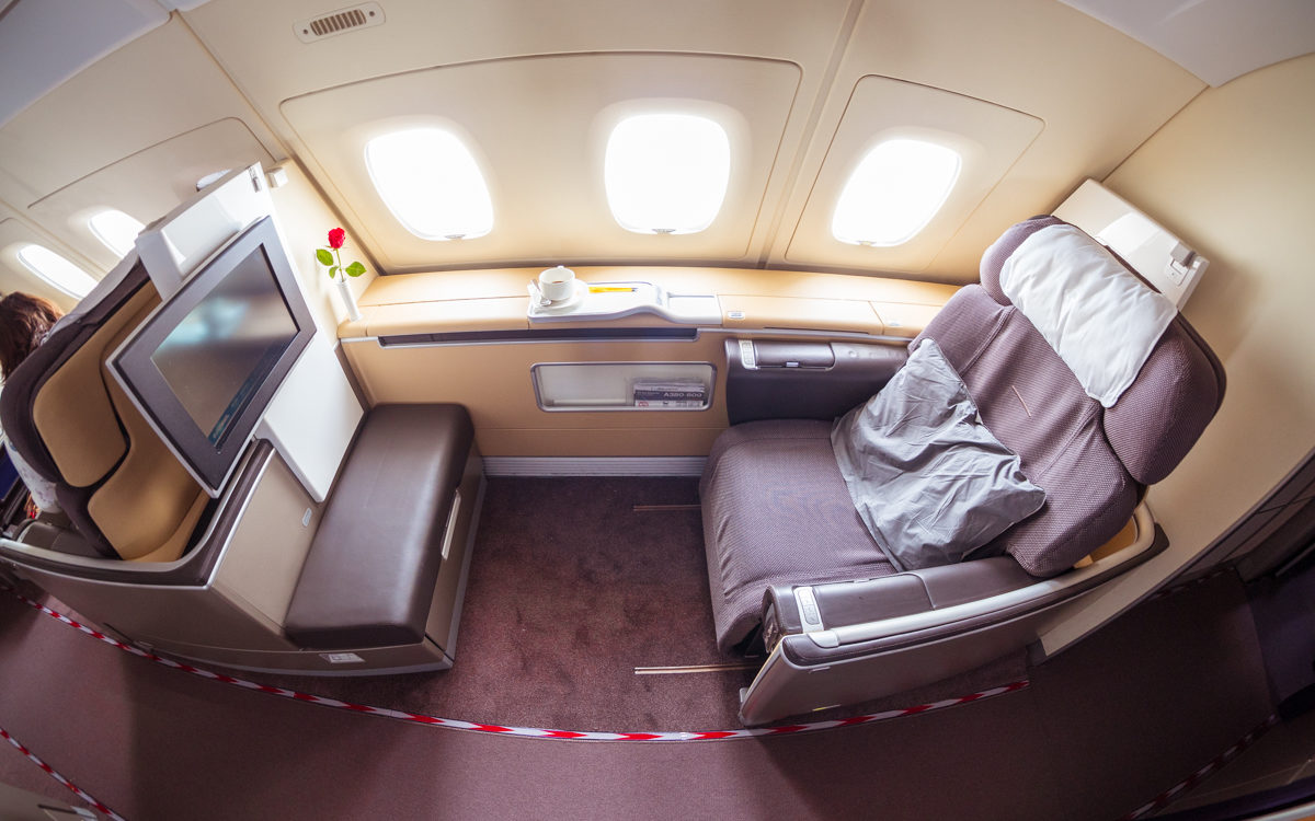 Lufthansa Airbus A380 First Class Review Fra To Sin Amazing Pics
