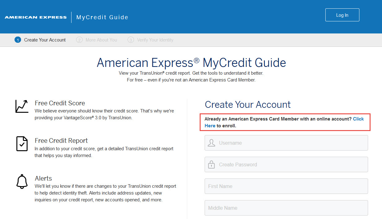 american express mycredit guide
