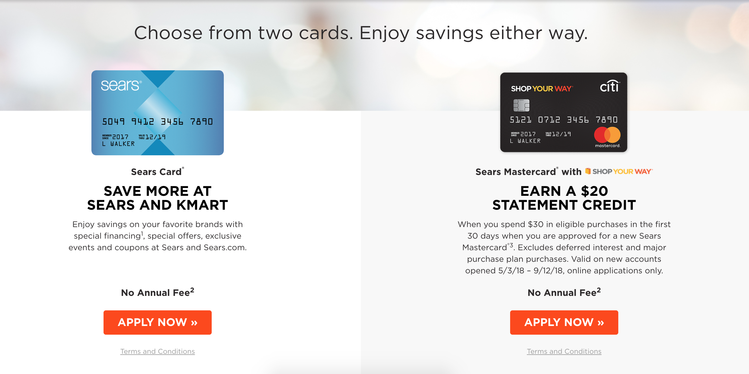 Sears Credit Cards Shop Your Way Rewards Are They Worth It