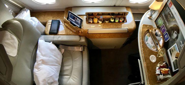 Emirates First, A380 (1)