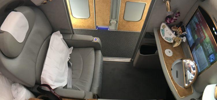 Emirates First Class, A380