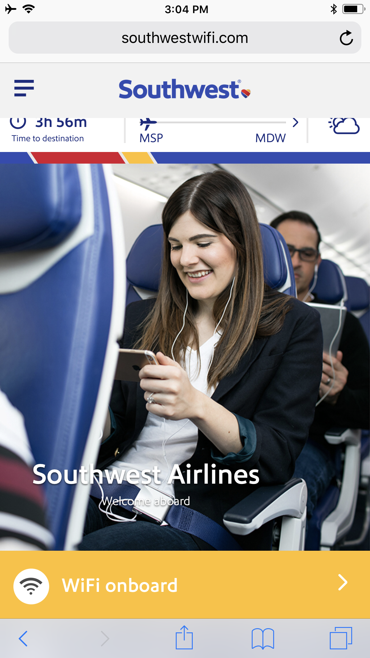 Guide to Southwest Airlines Wifi & In-Flight Entertainment [2018]