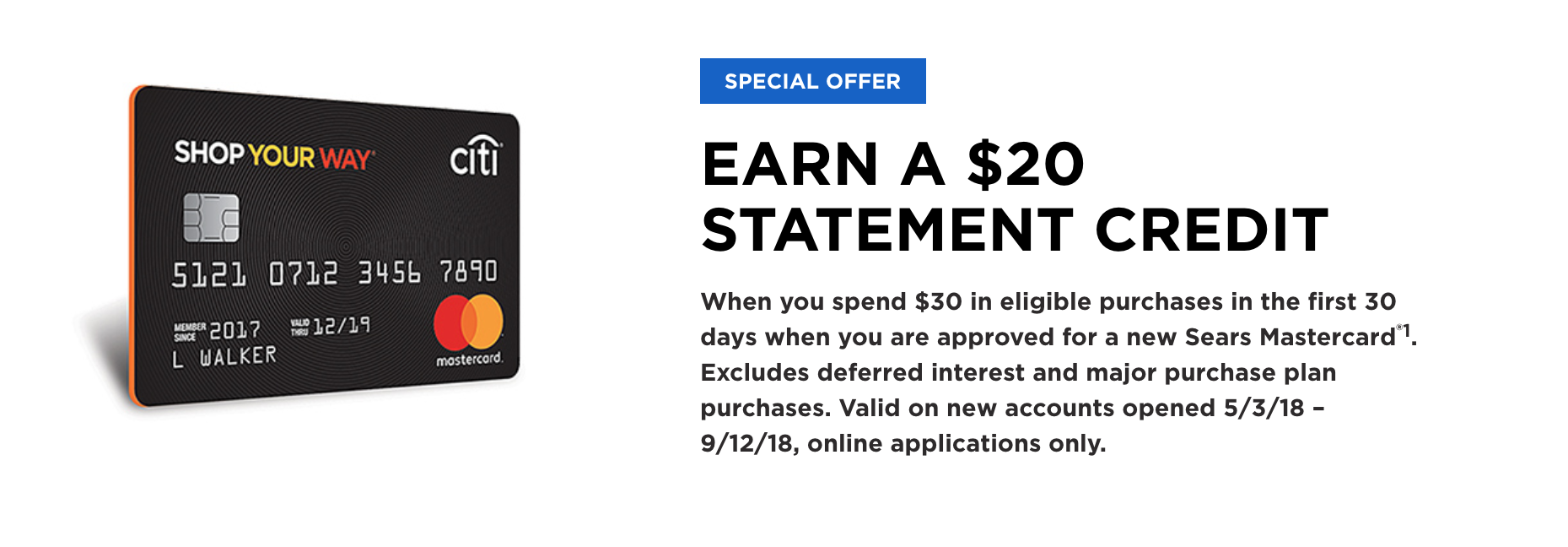 Sears Credit Card Login Citibank >> Sears Credit Cards Shop Your Way Rewards Are They Worth It