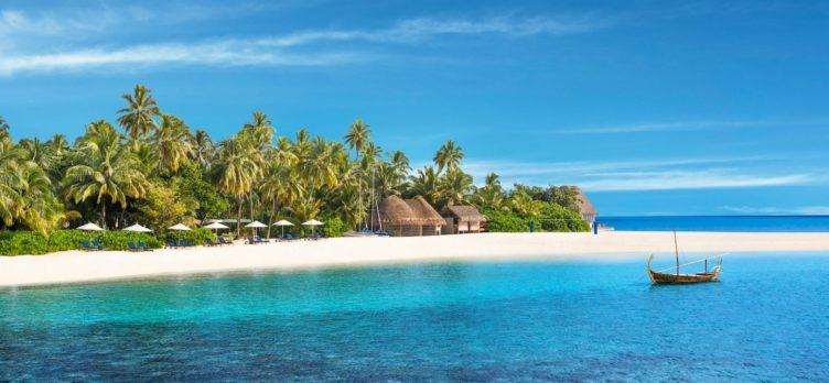 W Maldives Beach