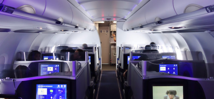 JetBlue Mint Cabin