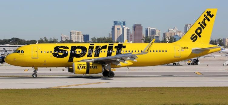 Spirit Plane Taxiing