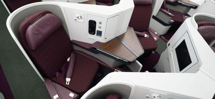 THAI New 787-9 Business Class