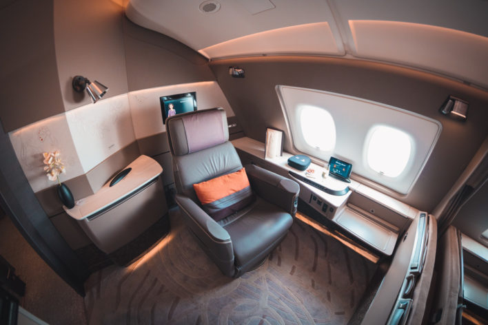 Singapore Airways Airbus A380 New First Class Suites [Amazing Pics]