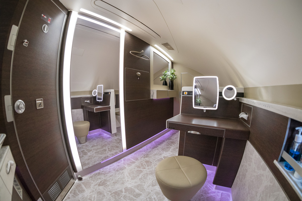 Singapore Airways Airbus A380 New First Class Suites