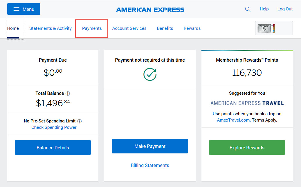 American Express Personal Savings Accounts [12 Update]