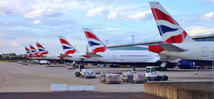 British Airways Plane Tails