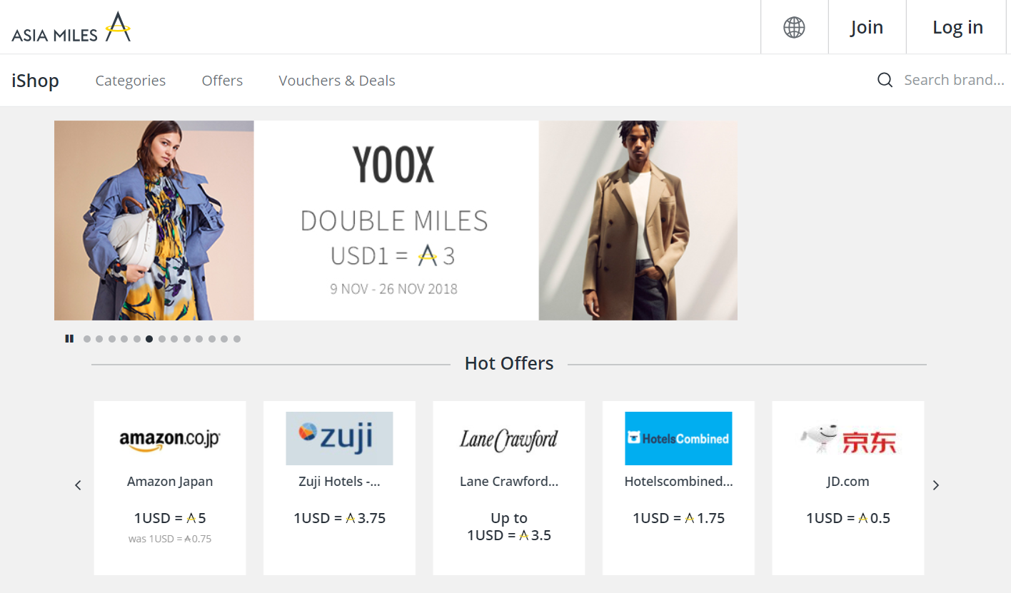 Use the cathay pacific asia miles ishop to earn more miles [guide].