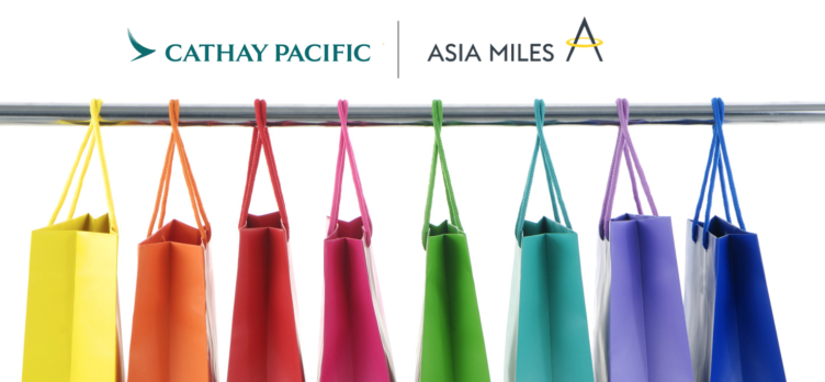 Cathay Pacific Asia Miles iShop Shopping Portal