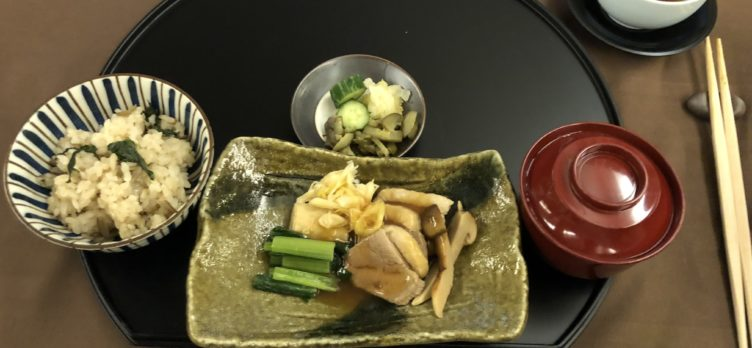 Japan Airlines 777 First Class Main Course 3