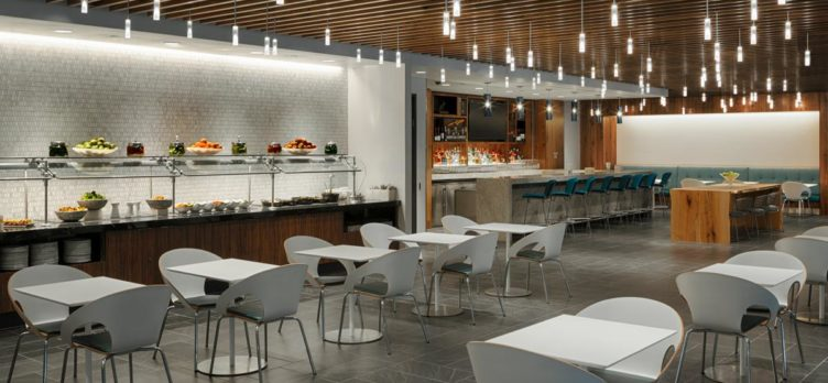 Renovated Centurion Lounge DFW