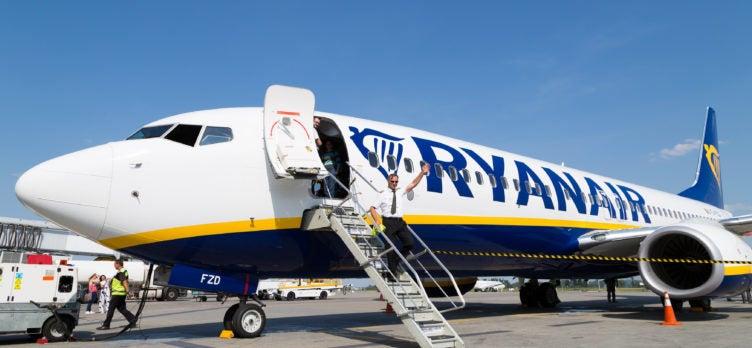 Ryanair Plane Boarding