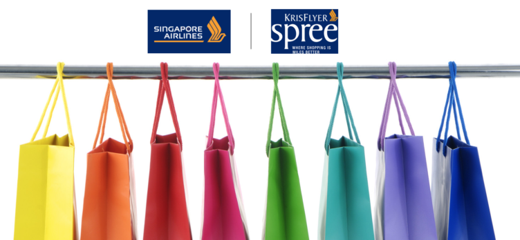 Singapore Airlines KrisFlyer Spree Shopping Portal