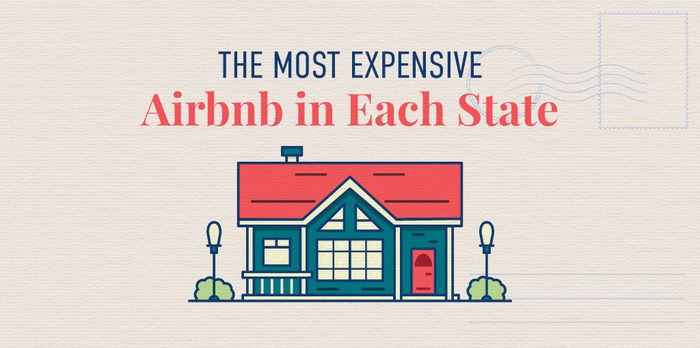 The Most Expensive Airbnb in Each State
