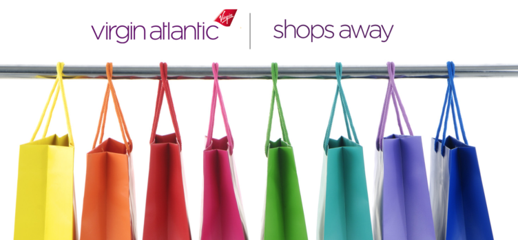 Virgin Atlantic Shops Away Shopping Portal