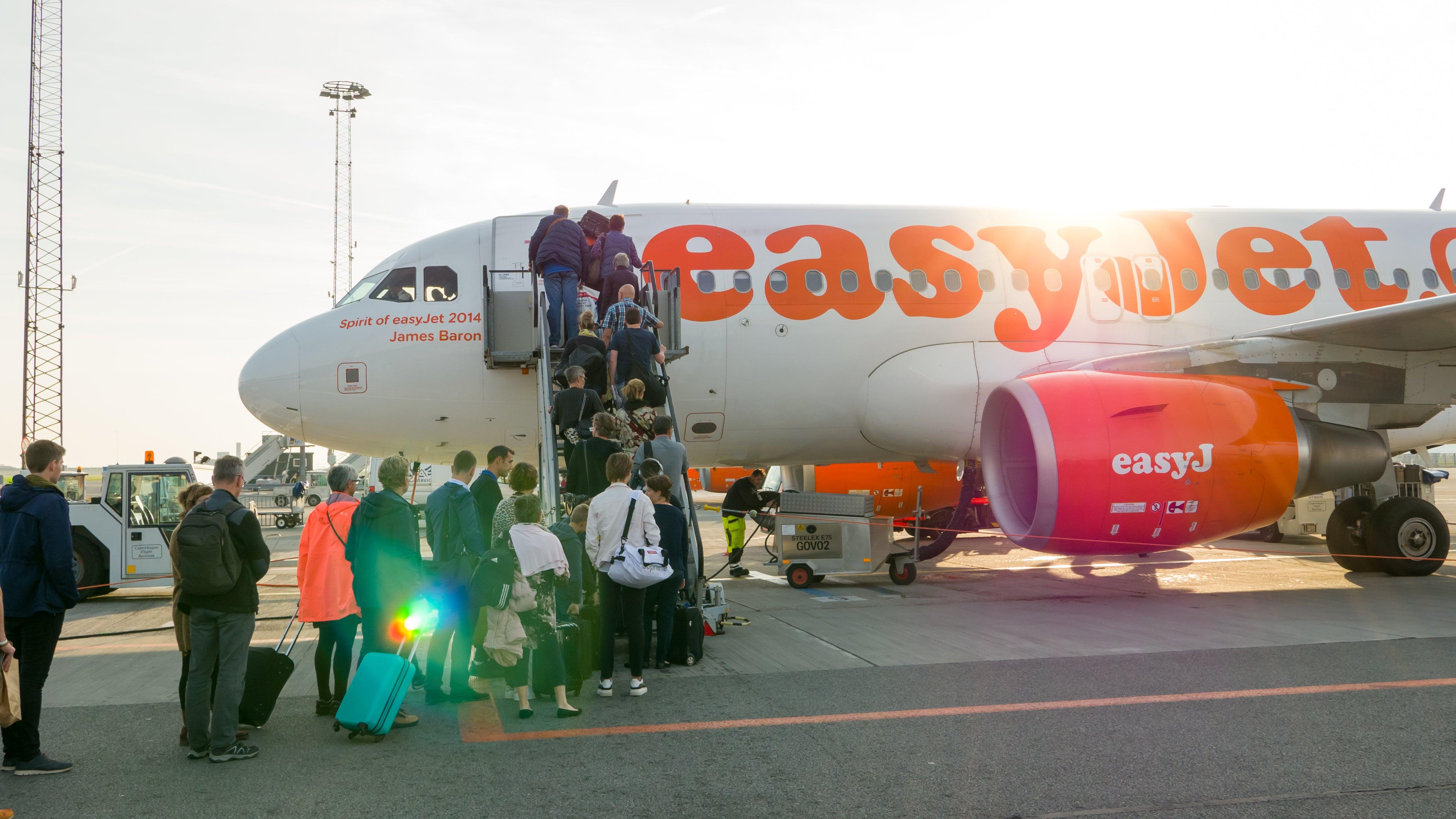 Easyjet Boarding