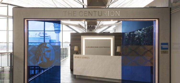 Centurion Lounge Exterior