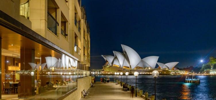 Park Hyatt in Sydney Australia
