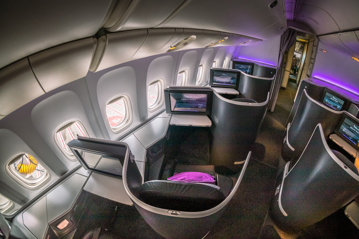 Virgin Australia Boeing 777 Business Class Review